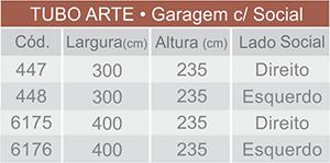 dados-portão-basculante-conjugado-tubo-arte-técnica